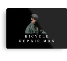 Bicycle Repair Man Metal Print