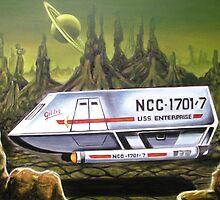 Star Trek Shuttlecraft by tonypatrick