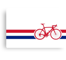 Bike Stripes British National Road Race Canvas Print