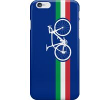 Bike Stripes Italian National Road Race iPhone Case/Skin