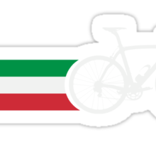Bike Stripes Italian National Road Race Sticker