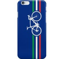 Bike Stripes Italian National Road Race v2 iPhone Case/Skin