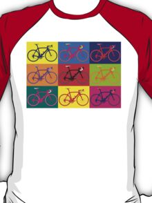Bike Andy Warhol Pop Art T-Shirt