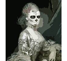 skeleton girl by yvonne willemsen