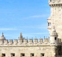 TORRE de BELEM- LISBON, PORTUGAL Sticker