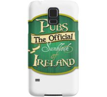 Pubs - the official sunblock of Ireland Samsung Galaxy Case/Skin