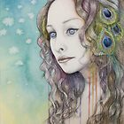 Feather - Imagined Portrait by Katherine Appleby