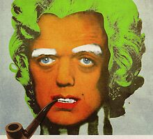 Oompa Loompa Self Portrait With Surreal Pipe by filippobassano