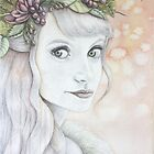 Berry - Imagined Portrait by Katherine Appleby