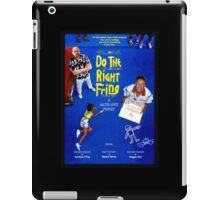 Do the Right Fring iPad Case/Skin