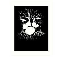 """""""Live the Beat to the Tempo of Creation"""" ~ drum art , version1 Art Print"""