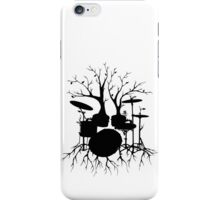 """Live the Beat to the Tempo of Creation"" ~ drum art, version2 iPhone Case/Skin"