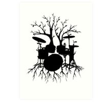 """""""Live the Beat to the Tempo of Creation"""" ~ drum art, version2 Art Print"""
