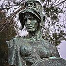 Sculpture in front of the Australian War Memorial (1) by Wolf Sverak