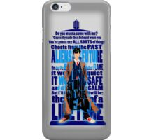 An Angel with all star red converse Shoes typograph iPhone Case/Skin