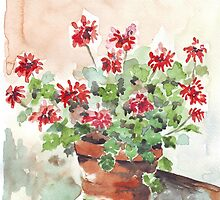 Sweet Geranium by Maree  Clarkson