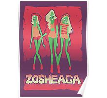 Music festivals zombies Poster