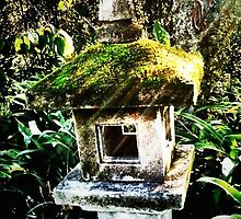 Bali bird house by Janine Barr