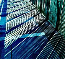 Walkway shadows by Janine Barr