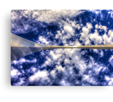 Gateway Arch - Looking Up Canvas Print