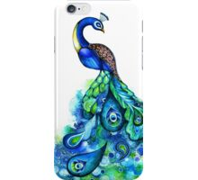 Peacock Watercolor iPhone Case/Skin