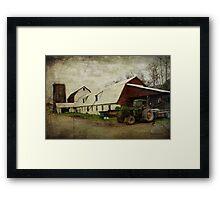Farm Work ~ a Hard Life Framed Print