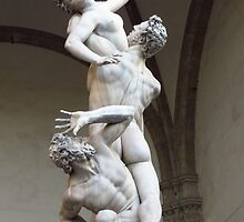 Rape Of The Sabine Women by wiggyofipswich