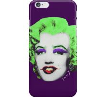 Marilyn j.  iPhone Case/Skin