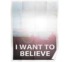 I want to believe light Poster