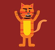 Crazy Cat Max by JoshCooper