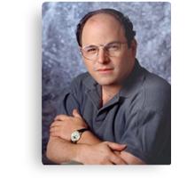 George Costanza Portrait Seinfeld Metal Print