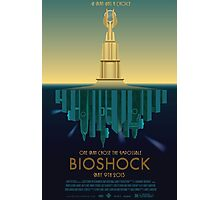 Bioshock Faux Movie Poster Photographic Print