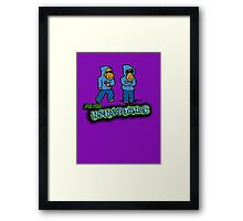The Flight of the Conchords - The Hiphopopotamus Framed Print