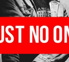 "2PAC ""Trust No One"" SUPREME Sticker"