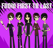From First To Last band by DaniDrama