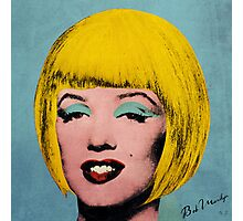 Bob Marilyn Monroe  Photographic Print