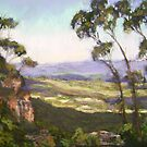Cliff Drive, Blue Mountains NSW by Terri Maddock