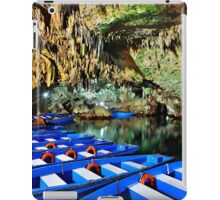 Boat ride in the underworld - Diros caves iPad Case/Skin