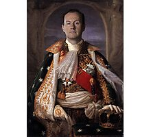 The Current King Of England- Mycroft Holmes Photographic Print