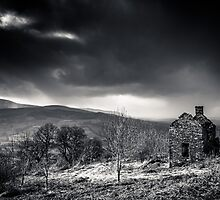 The Old Welsh House by Heidi Stewart