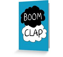 Boom Clap (sound of my heart - TFIOS) Greeting Card