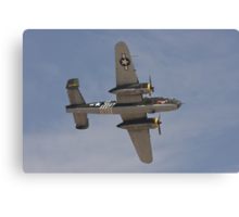 B 24J Mitchell Bomber Canvas Print