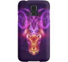 Aries - Zodiac Lightburst Samsung Galaxy Case/Skin
