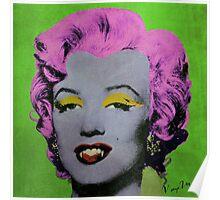 Vampire Marilyn variant 2 Poster