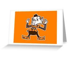 Johnny Manziel Cleveland Browns Elf  Greeting Card