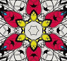 Color Symmetry 4 by SRowe Art
