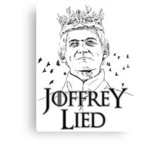 Joffrey Lied Canvas Print