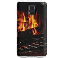 Cozy Winter Fire Samsung Galaxy Case/Skin