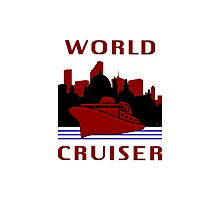 Being A World Cruiser Photographic Print