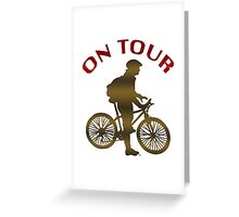 The Bicycle Tour Greeting Card